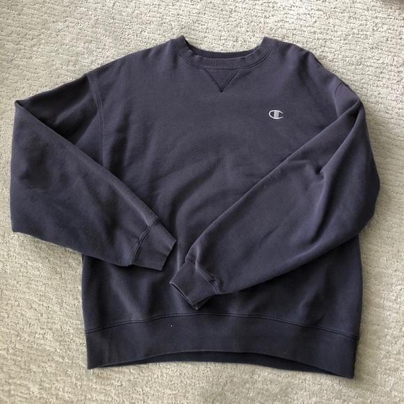 2ac9bdc6218e Champion Tops - Washed navy blue vintage champion sweatshirt